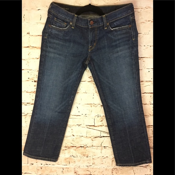 Citizens Of Humanity Denim - CITIZENS OF HUMANITY Style 063 Crop Stretch size29